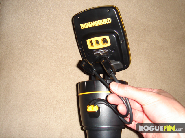 humminbird fishin' buddy portable fishfinder review - part 1, Fish Finder