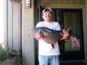29.09lb Catfish Caught By Van Pham at Los Vaqueros Reservoir